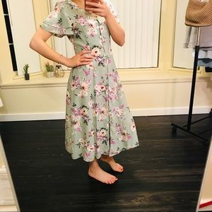 CDC PETITE 90's vintage dress